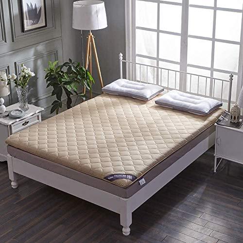 5 cm Faltbare Tatami-Matratze Futon-Matratze kann zum Schlafen auf den Boden gefaltet...