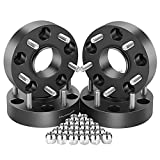 Orion Motor Tech 5x5 Wheel Spacers 1.5 inches with 1/2-20 Studs for 007-2018 Jeep Wrangler JK, 1999-2010 Grand Cherokee WJ WK, 2006-2010 Commander XK, 4pcs