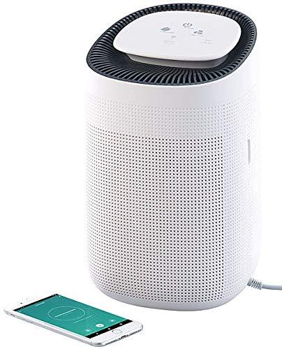 Sichler Haushaltsgeräte Deshumidificador Con Aplicación: Purificador de aire y deshumidificador 2 en 1, para Amazon Alexa y Google Assistant (Deshumidificador Aplicación controlar)