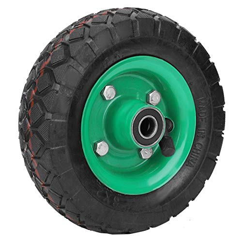 125 Neumático de Repuesto de Caucho de 6 Pulgadas, neumático Inflable Resistente al Desgaste, neumático de Rueda de 6 Pulgadas, neumático de Carro de Grado Industrial, 250 kg, 36 PSI