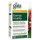 Gaia Herbs, Energy Vitality Phyto, 60 Count
