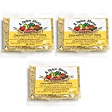 A Spice Above Dips, Spreads, and Dressing Mixed Seasonings Party Packets, 3 Pack (Carmelized French Onion)