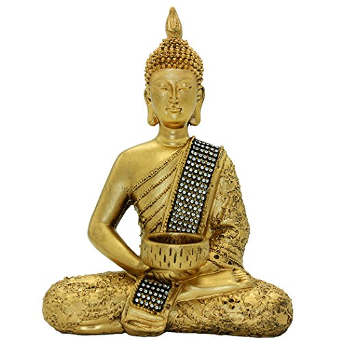 10.24'(H) Buddha Statue of Thailand Sit Buddha Ornaments Handicrafts Home Decorations BS115
