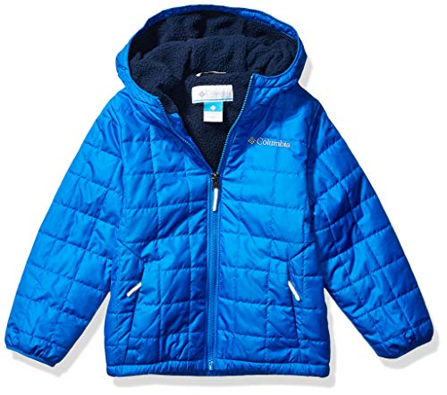 Columbia Boys' Big Rugged Ridge Sherpa Lined Jacket, Super Blue, X-Large