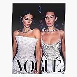 Anbugang Art Fashion Vintage Vogue Kendall Hadid Jenner