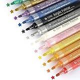 Marqueur Peinture Acrylique, Vegena ensemble de stylos 12...