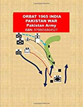 ORBAT 1965 INDIA PAKISTAN WAR: Pakistan Army