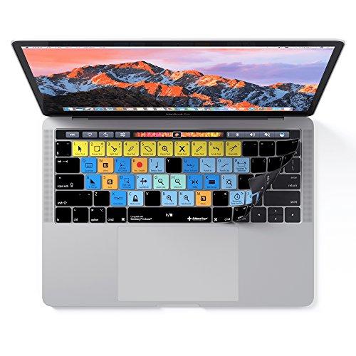 Cubase Tastatur Cover Haut für Apple Macbook Pro mit Touch Bar–Shortcuts & Schutz