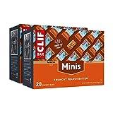 CLIF BAR - Mini Energy Bars - Crunchy Peanut Butter - (0.99 Ounce Snack Bars, 40 Count)