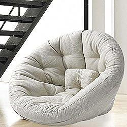 Un fauteuil au look design, de dimension idéale pour les ados