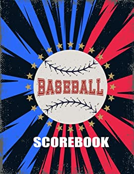 Baseball Scorebook  130 Baseball and Softball Scoring Sheets Ideal for Coaches and Teams Baseball Record Book  Great for Youth and Adult Baseball  Vintage Large Print.