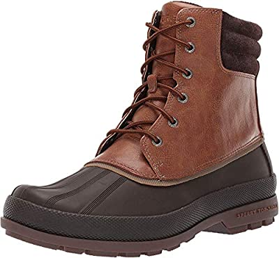 Sperry Mens Cold Bay Boot Boots, Tan/Brown, 10.5 Wide
