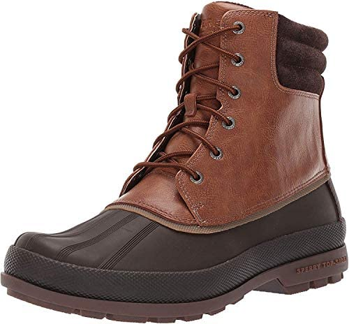 Sperry Mens Cold Bay Boot Boots Tan Brown 9 Wide product image