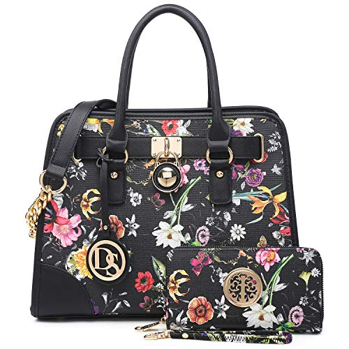 Maya Karis Purse Bolsas de mochilas para mujer con múltiples bolsillos, gran diseñador, para ordenador portátil o tableta, multicolor, ideal como regalo de verano para mamá