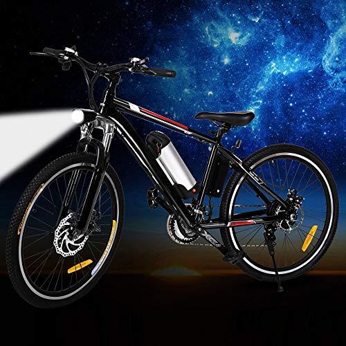 SHIJING krachtige elektrische fiets, 26 inch, 250 W, EBike 21 snelheden, elektrische mountainbike, elektrische auto-city road bicleta vouwbaar fietsen