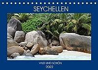 Seychellen - Wild und Schoen (Tischkalender 2022 DIN A5 quer): Erleben Sie die Inseln der Seychellen in ihrer vollen Pracht (Monatskalender, 14 Seiten )