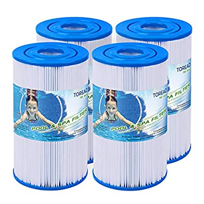 TOREAD Watkins 31489 Replacement Filter, Compatible Pleatco PWK30, Unicel C-6430, Filbur FC-3915, P/N0969601, 71825, 73178, 73250, 30 sq. ft. Hot Spring Spa Filter