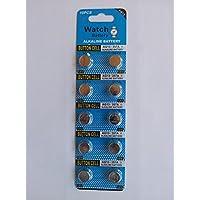 Lote de 10x Pilas de botón LR44 AG13 GP76A L1154 A76 V13GA