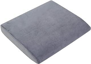 Memory Cotton Square Cushion Chair Pad Grey 19