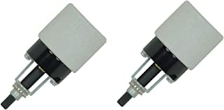 Satco Phenolic Bottom Turn Knob Sockets -2 Pack