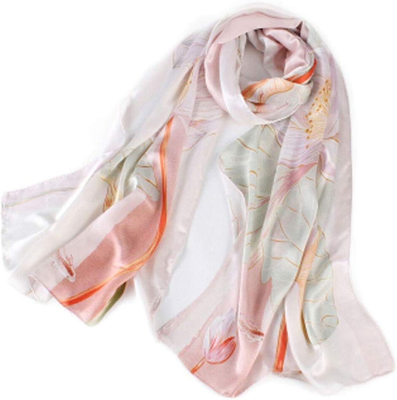Xionghaizi Silk Scarf, 100% Silk Scarf Satin Long Scarf Wrap Shawl, New Silk HandEmbroidered Shawl Dualuse Suzhou Silk Gift Silk Scarves Scarf Bib Gift Box (Style   Dutch Rhyme)