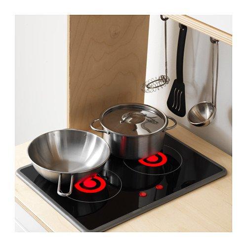 Ikea DUKTIG Spielküche Maße: 72x40x109 cm Ideal für Kleine Küchenmeister und die Ganze Familie. Kinderküche - 5