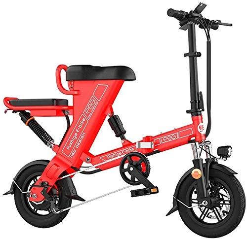 Bicicletas Eléctricas, Bicicletas for adultos plegable eléctricos Comfort Bicicletas Bicicletas híbrido reclinada / Road de 20 pulgadas, batería de litio 8Ah, aleación de aluminio, frenos de disco, ex