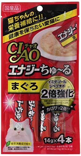 チャオ (CIAO) 猫用おやつ エナジーちゅ~る まぐろ 14グラム (x 24) (まとめ買い)