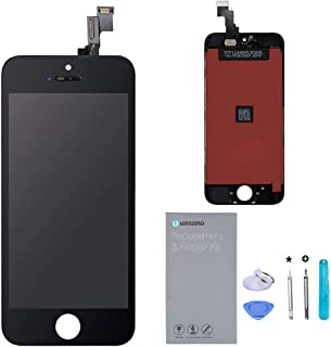 URSEND Screen Replacement LCD Touch Screen Display Digitizer Assembly for iPhone SE Black with Repair Tools