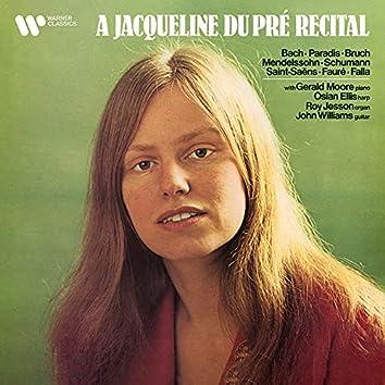 A Jacqueline du Pré Recital