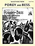 book cover: Selections fromPorgy and Bess (sheet music)