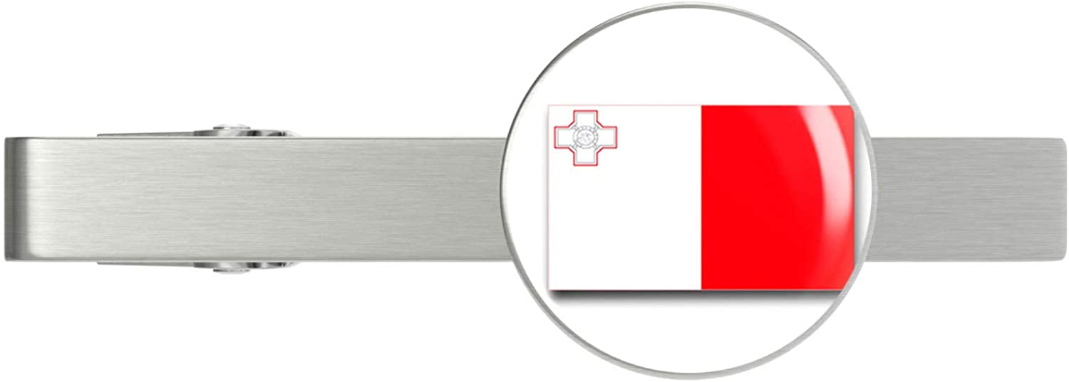 HOF Trading Malta Flag Military Veteran Max 88% OFF Silver Tie T Served Mail order cheap Clip
