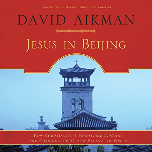Jesus in Beijing audiobook cover art