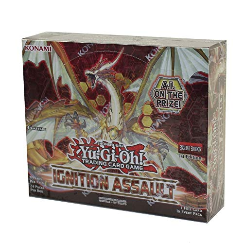 Yu-Gi-Oh! Ignition Assault Booster Box Trading Cards