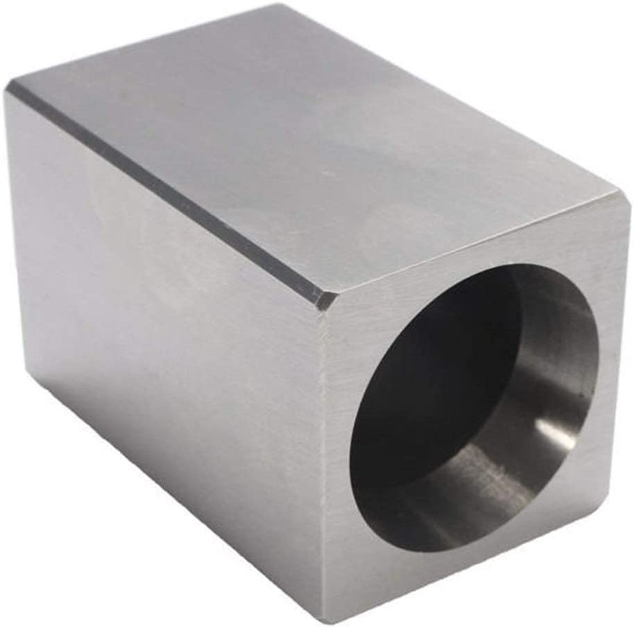 TANGIST Lathe Indexable Max 60% OFF Hard Steel Bargain Collet Block Square 5-C