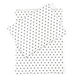 Sugarapple Little Puppenbettwäsche Sterne grau für Puppen Größe 36 cm - 44 cm, Öko Tex Standard