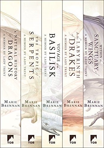The Complete Memoirs of Lady Trent Series: A Natural History of Dragons, The Tropic of Serpents, The Voyage of the Basilisk, In the Labyrinth of Drakes, ... Sanctuary of Wings (The Lady Trent Memoirs)