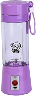 N/ A 380 ML Portable Blender Juicer Cup USB Rechargeable Électrique Automatique Juicer pour Légumes Fruits