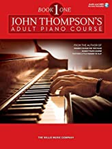 John Thompson's Adult Piano Course - Book 1: Elementary Level Book with Online Audio