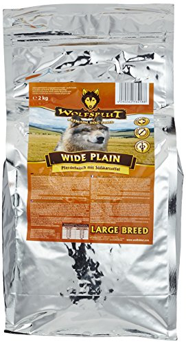 Wolfsblut | Wide Plain Large Breed | 2 kg | Pferd | Trockenfutter | Hundefutter | Getreidefrei