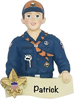 Cub Scout Personalized Ornament - (Unique Christmas Tree Ornament - Classic Decor for A Holiday Party - Custom Decorations for Family Kids Baby Military Sports Or Pets)