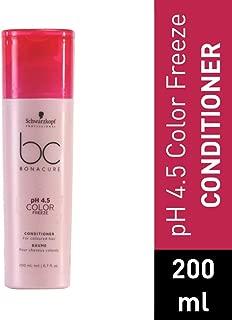 BC BONACURE pH 4.5 Color Freeze Conditioner, 6.76-Ounce
