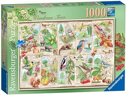 Ravensburger 16421 Harry Potter Wondrous Trees Puzzle, 1000 Teile