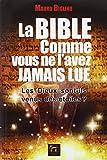 La Bible comme vous ne l'avez jamais lue by Mauro Biglino (May 08,2014) - Atlantes (May 08,2014)