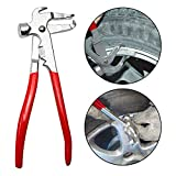 Jecr Wheel Weight Pliers – Balance Hammer Plier Tool for All Auto - Tire Balancing Weight Installer and Removal Tool - Remover Pliers for Wheel Weight Balance