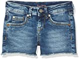 Pepe Jeans Girl's Elsy Teen Swim Shorts, White (Denim), 10 Years (Manufacturer size: X-Small)