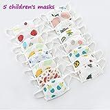 Professionelle Kindermasken, reiner Baumwolle Gazeschablonen, können 99% der Bakterienfilter und...