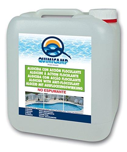 Quimicamp - Algicida multifunción no espumante, tamaño 5l