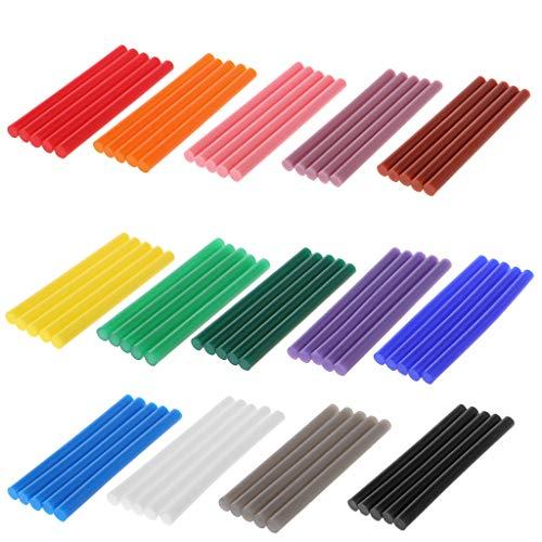 Exing 60 stücke Heißkleber Stick Bunte 7x100mm Klebstoff Für DIY Handwerk Spielzeug Repair Tool