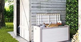KETER | Coffre de rangement GULLIVER, Beige, Coffre, 118x49x55 cm